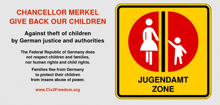 Return German and foreign children to their families