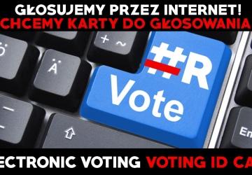 Głosujemy przez internet + karta do głosowania - Petycja do Prezydenta Polski