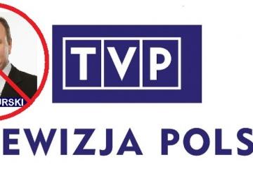 Usunięcie Jacka Kurskiego ze stanowiska prezesa TVP