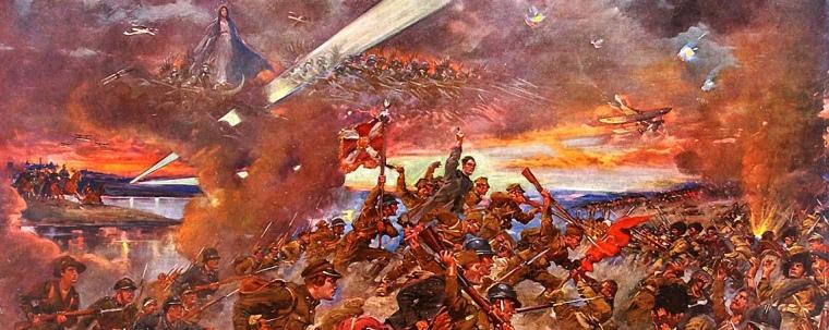 Łuk Triumfalny - Bitwy Warszawskiej 1920 roku