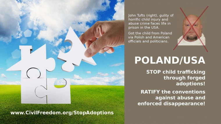 STOP inter-country adoptions of children