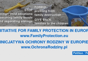 Initiative for family protection in Europe