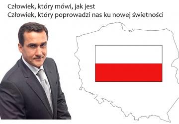 Mariusz Max Kolonko na Prezydenta Polski