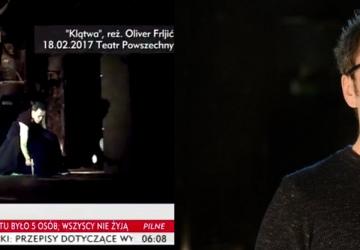 Pomoc w schwytaniu przestępcy Oliver Frljić
